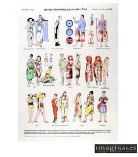 """Image """"Costumes traditionnels de la planète OLH"""""""