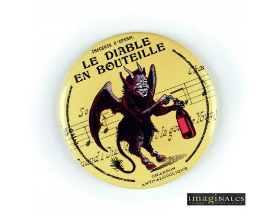 """Magnet Décapsuleur""""Le diable en bouteille"""" /IMAGINALES"""