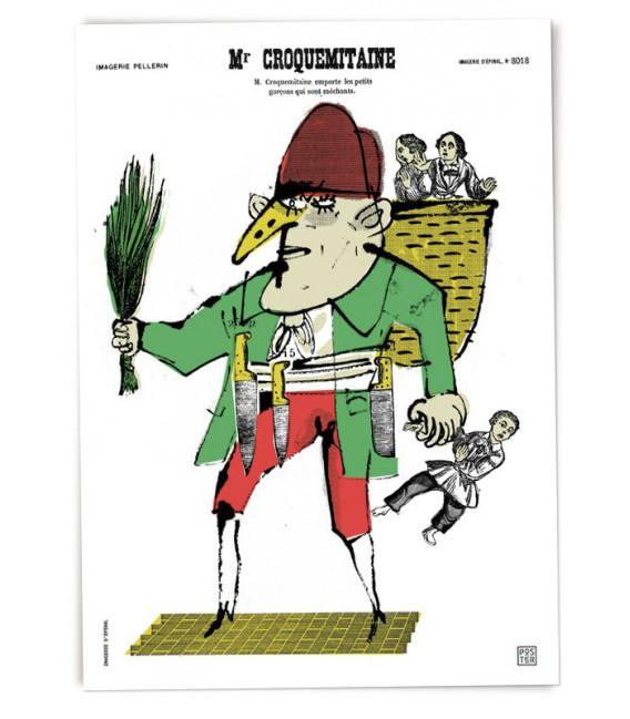 """Grande affiche """"Monsieur Croquemitaine"""""""