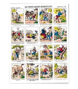 """Poster """"Les petits garçons désobéissants"""""""