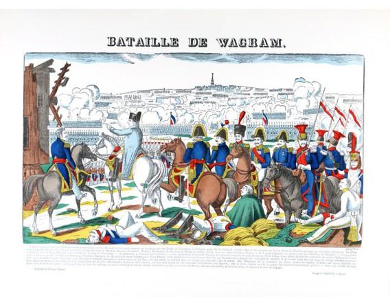 BATAILLE DE WAGRAM par François Georgin