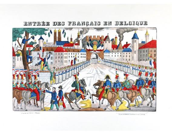 ENTREE DES FRANCAIS EN BELGIQUE