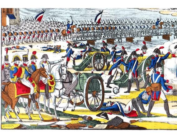 Bataille et passage du pont de Lodi