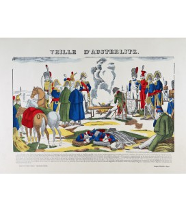 Veille d'Austerlitz par François Georgin