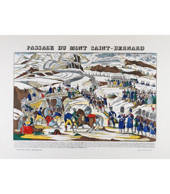 Passage du Mont Saint Bernard