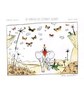 """Image """"La Fabrique d'éléphant volants """" par Alain Lachartre"""