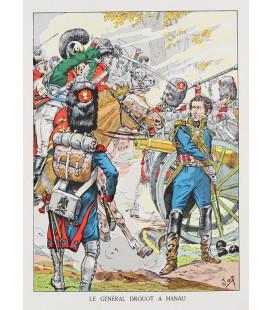 Le Général Drouot à Hanau par Job