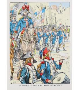 Le Général Kléber à la sortie de Mayence