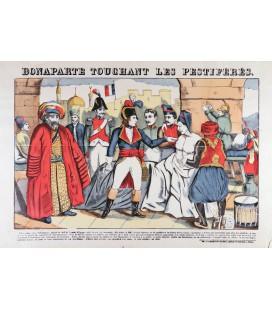 Bonaparte touchant les pestiférés