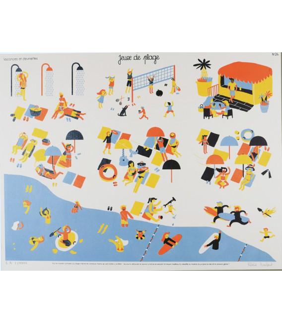 """Image """"Jeux de plage"""" par Hélène Humbert"""
