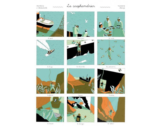 "Image ""Scaphandrier"" par Simon Bailly"