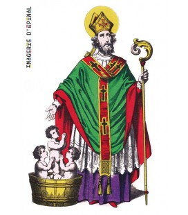 Magnet Saint-Nicolas traditionnel