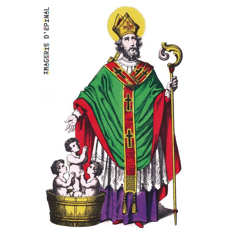 saint nicolas patron coliers a inspir notre p re no l