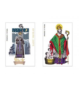 Lot de 2 magnets Saint-Nicolas
