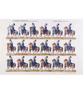 La cavalerie prussienne (nouvel uniforme)