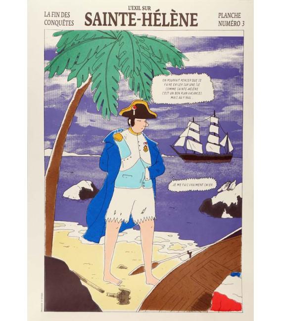"""Image """"L'Exil sur Sainte-Hélène"""" par Simon Bailly"""