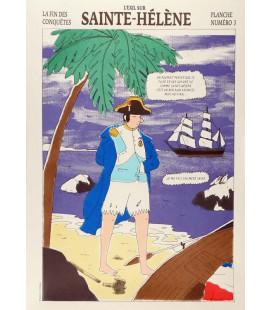 """Image """"L'exil sur Sainte-Hélène"""""""