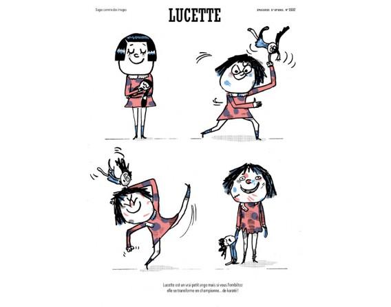 Image Lucette de Serge Bloch