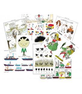 Lot de 9 cartes doubles nouvelle collection