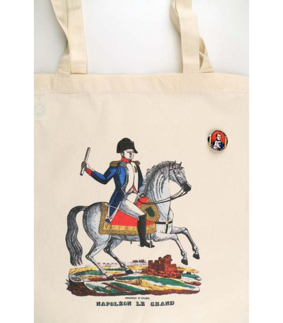 Sac en coton Napoléon + badge