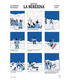 """Grande affiche """"Passage de la Bérézina"""""""