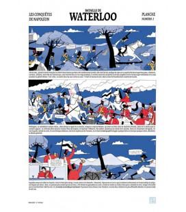 "Grande affiche ""Bataille de Waterloo"""
