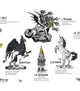 """Grande affiche """"Les créatures fantastiques"""""""
