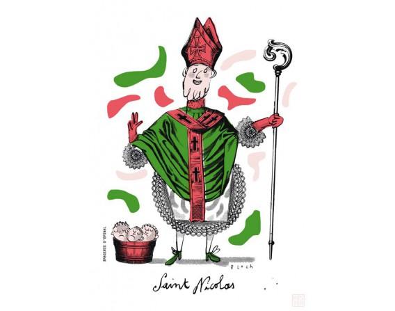 "Grande affiche ""Saint-Nicolas"""