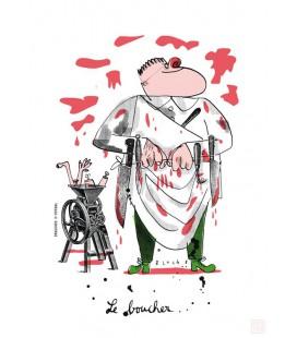 """Grande affiche """"Le boucher"""""""