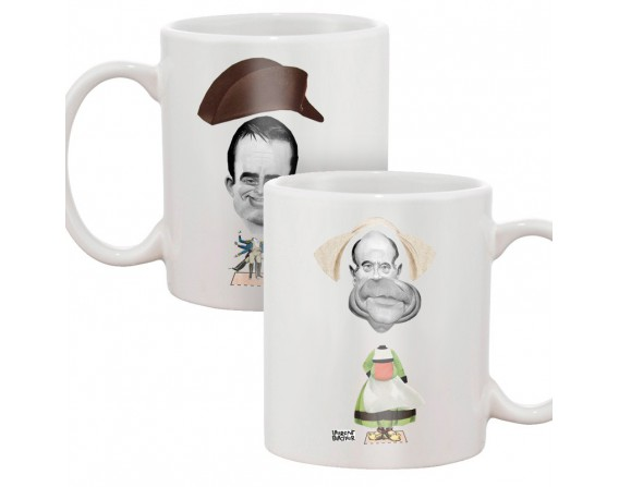 Mug Poupée à habiller (Valls et Juppé)