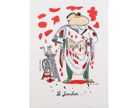 """Image """"Le boucher"""""""