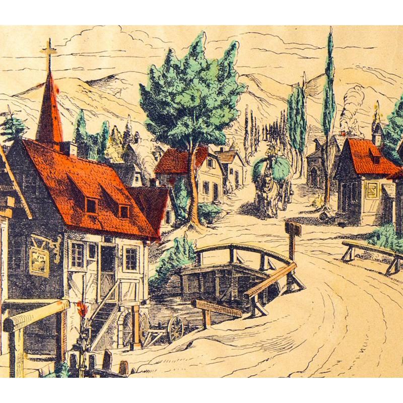 D cor village et coulisses maison images d 39 pinal for Decor de theatre