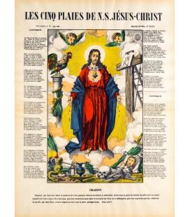 LES CINQ PLAIES DE N.S. JÉSUS-CHRIST