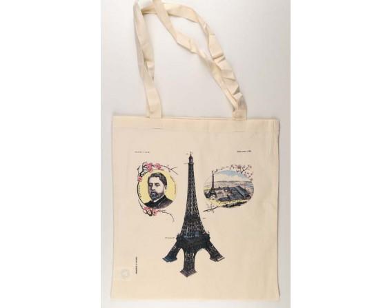 """Sac en coton """"Paris, tour Eiffel"""""""