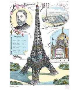 """Grande affiche """"Gustave Eiffel"""""""