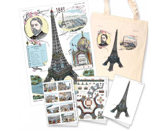 """Coffret """"Paris"""" composé de différents produits"""