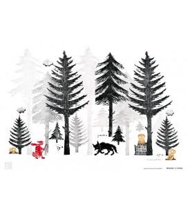 """Affiche """"Forêt"""""""