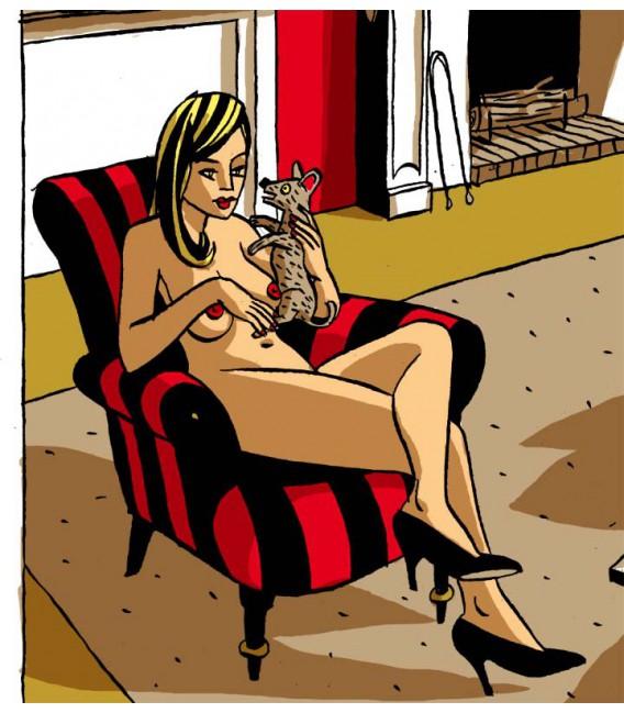 "Image ""Fonda"" par Loustal"