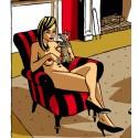 """Image """"Fauteuil Jane Fonda"""""""