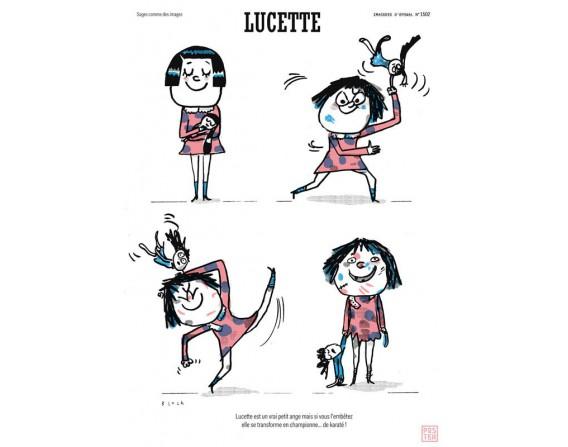 """Grande affiche """"Lucette"""""""