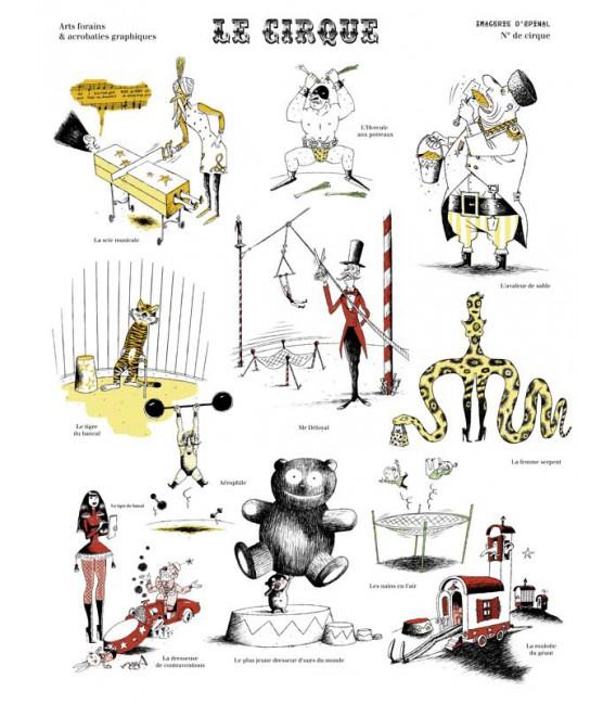 """Image """"Le Cirque"""" par Eric Heliot"""