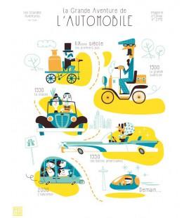"Affiche ""La grande aventure de l'automobile"""