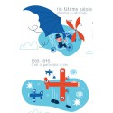 "Affiche ""La grande aventure de l'aviation"""