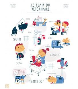 """Affiche """"Le flair du vétérinaire"""""""
