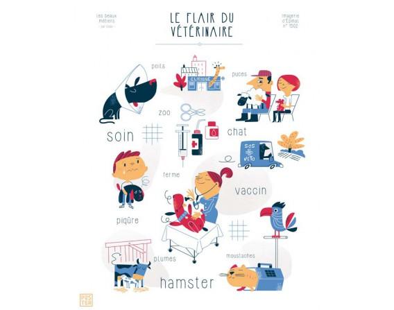 """Affiche """"La Grande Aventure de l'Aviation"""" par Clod"""