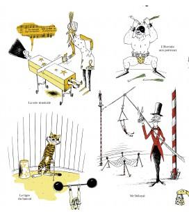 """Affiche """"Le Cirque"""" par Eric Héliot"""