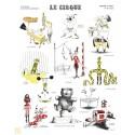 """Affiche """"Le cirque"""""""