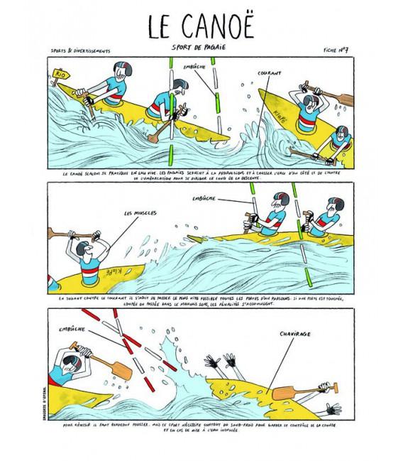 """Image """"Le Canoë"""" par Zoé Thouron"""