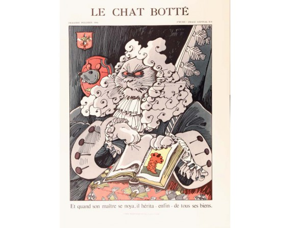 Le Chat Botté par F'MURR