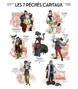 """Image """"Les 7 péchés capitaux"""""""